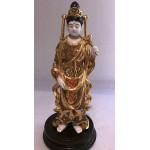 Vintage Japanese export Satsuma figurine