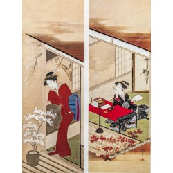 Japanese Ukiyo-e paintings
