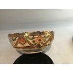 Vintage Japanese export Satsuma bowl, Very rare.